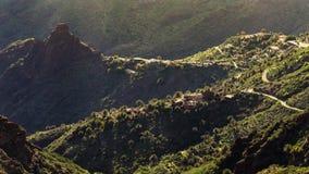 Деревня Masca, самое известное туристское назначение в Тенерифе стоковая фотография