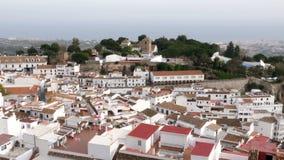 Деревня Mijas, Испании сток-видео