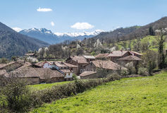 Деревня Mogrovejo стоковая фотография rf