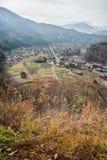 Деревня Ogimachi в Shirakawago Стоковая Фотография