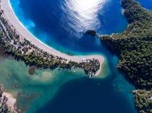 Деревня Oludeniz в Турции стоковое фото rf