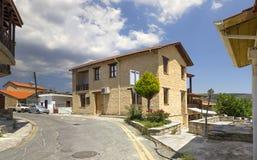 Деревня Omodos Кипр стоковые изображения rf