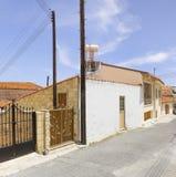 Деревня Omodos Кипр стоковая фотография rf