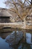 Деревня Oshino Hakkai, пункт назначения в Японии стоковая фотография rf