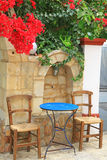 Деревня Panormo на Крите, Греции стоковые фотографии rf