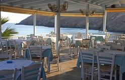 Деревня Panormo на Крите, Греции стоковые изображения