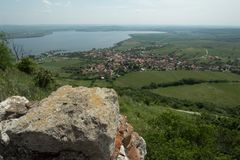 Деревня Pavlov в южной Моравии Стоковая Фотография RF