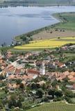 Деревня Pavlov в южной Моравии стоковое фото