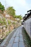 Деревня Pingshan старых деревень в Китае Стоковое Изображение