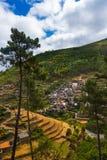 Деревня Piodao - Португалия стоковые изображения rf