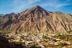 Деревня Purmamarca в к северо-западу от Аргентины Стоковые Фотографии RF