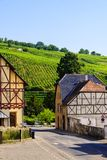 Деревня Riquewihr, Франции Стоковое Изображение RF