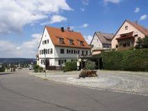 Деревня Rotenberg, около Штутгарта Стоковое фото RF