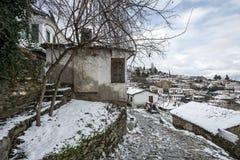 Деревня Sirince, деревня Sirince под снегом Стоковые Фото