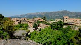 Деревня Siurana стоковое изображение