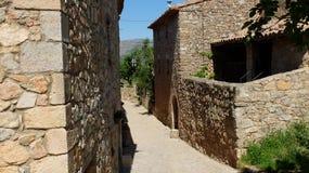 Деревня Siurana стоковые изображения rf