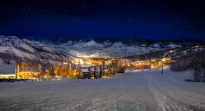 Деревня Snowmass Стоковая Фотография