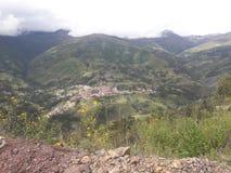 Деревня Sorata, отдел Paz Ла, Боливия стоковая фотография