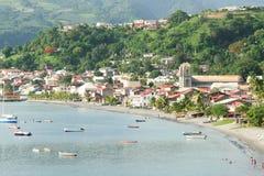 Деревня St Pierre в Мартинике Стоковая Фотография RF
