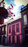 Деревня Teror Испания стоковые изображения rf