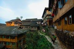 Деревня Tiantou Стоковое Изображение