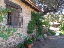 Деревня Toscana Стоковые Фотографии RF
