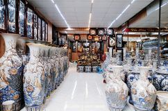 Деревня Trang летучей мыши керамическая Стоковые Изображения