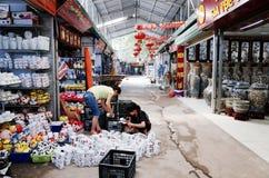 Деревня Trang летучей мыши керамическая Стоковое фото RF