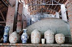 Деревня Trang летучей мыши керамическая Стоковая Фотография RF