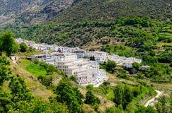 Деревня Trevelez стоковая фотография