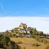 Деревня Turenne во французском Correze стоковые фотографии rf