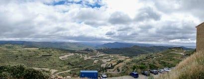 Деревня Ujue Стоковое Изображение