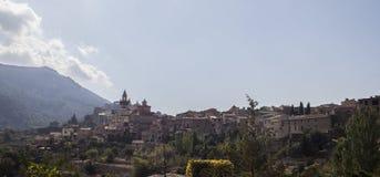 Деревня Valldemossa в Мальорке стоковая фотография rf