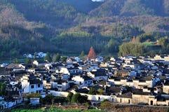 Деревня Xidi Стоковое Изображение RF