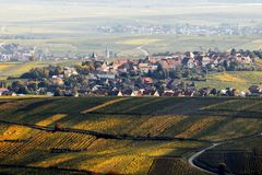 Деревня Zellenberg Стоковое Изображение RF