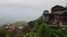 Деревня Zhuang Стоковые Изображения RF