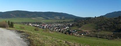 Деревня Zuberec Стоковое фото RF