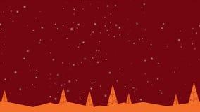 Дерево анимации для приветствовать рождество веселое бесплатная иллюстрация