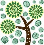 Дерево вектора иллюстрация штока