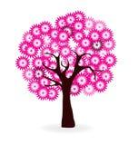 Дерево вишневых цветов бесплатная иллюстрация