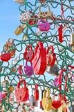 Дерево влюбленности Стоковое Изображение