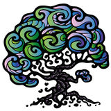 Дерево жизни иллюстрация штока
