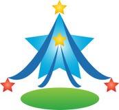Дерево звезды Стоковое Изображение