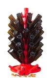 Дерево, крышки, и Capper пивной бутылки Стоковое фото RF