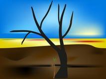 Дерево назад к жизни Стоковое Изображение