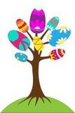 Дерево пасхи Стоковое Фото