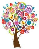 Дерево пасхи иллюстрация штока
