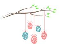 Дерево пасхи Стоковое фото RF