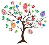 Дерево пасхи иллюстрация вектора