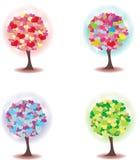 Дерево сердец Стоковые Изображения